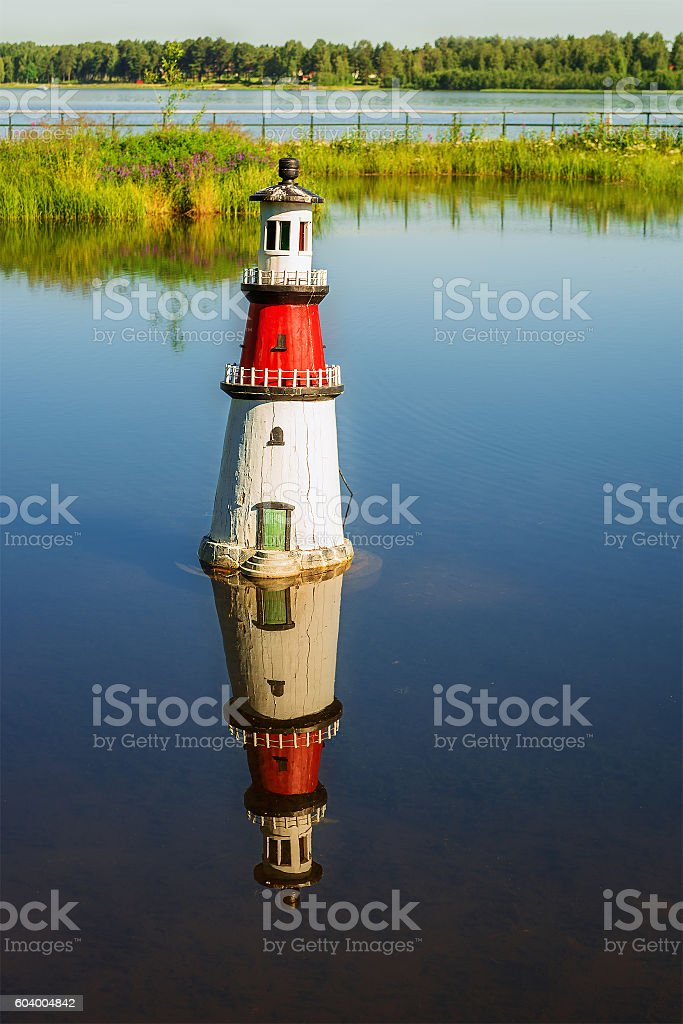 Lighthouse HDR stock photo