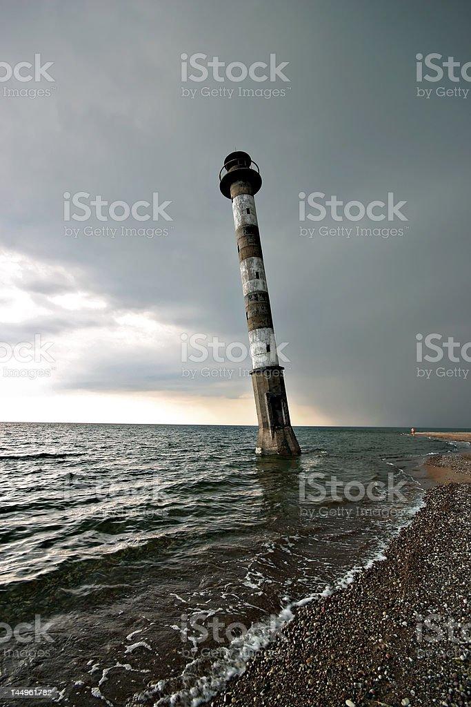 Lighthouse in Estonia royalty-free stock photo