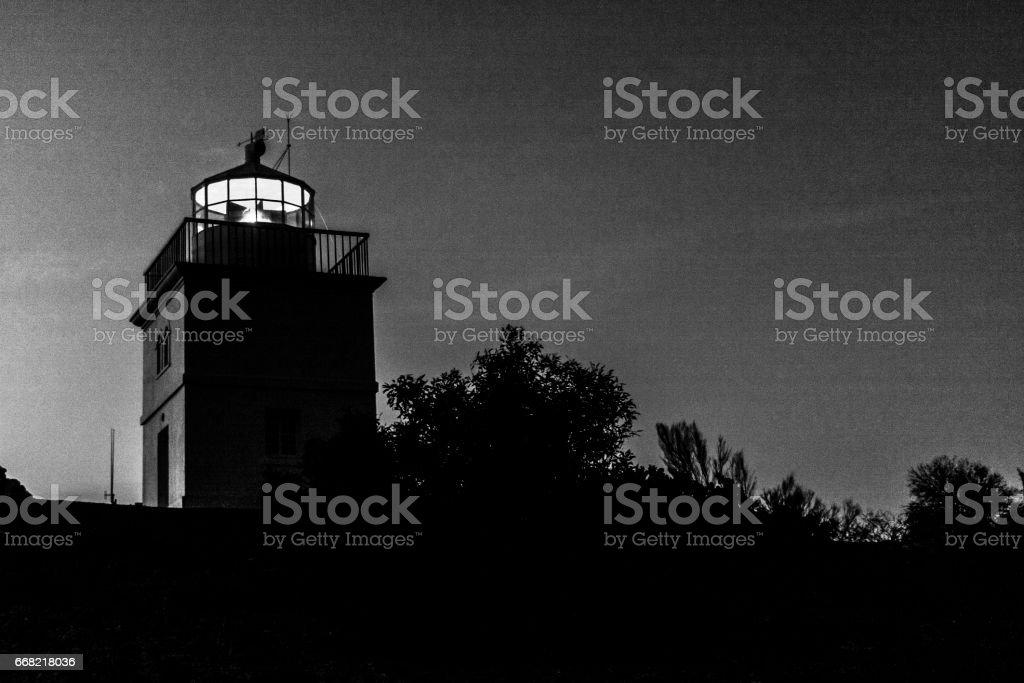 Lighthouse  in Kangaroo Island. South Australia stock photo