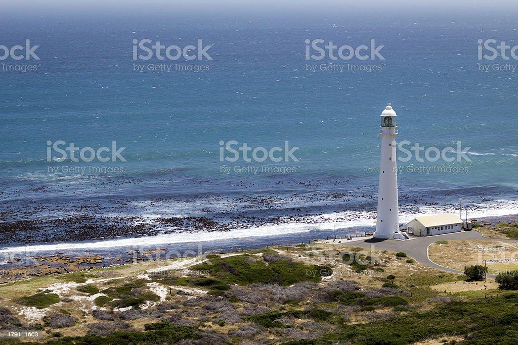 Lighthouse in Kommetjie royalty-free stock photo