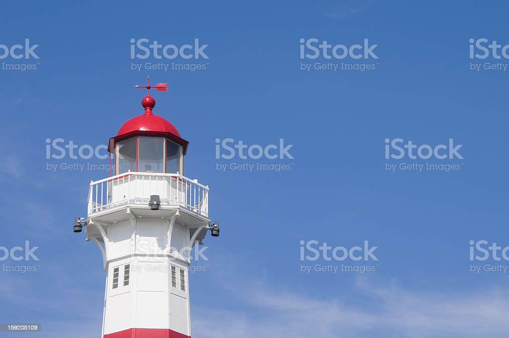Lighthouse in Malmo, Sweden royalty-free stock photo