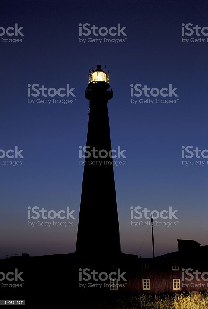 Lighthouse in Norway royalty-free stock photo