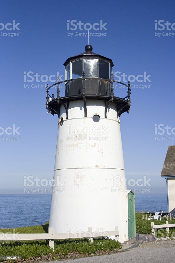 Lighthouse in Pacifica royalty-free stock photo