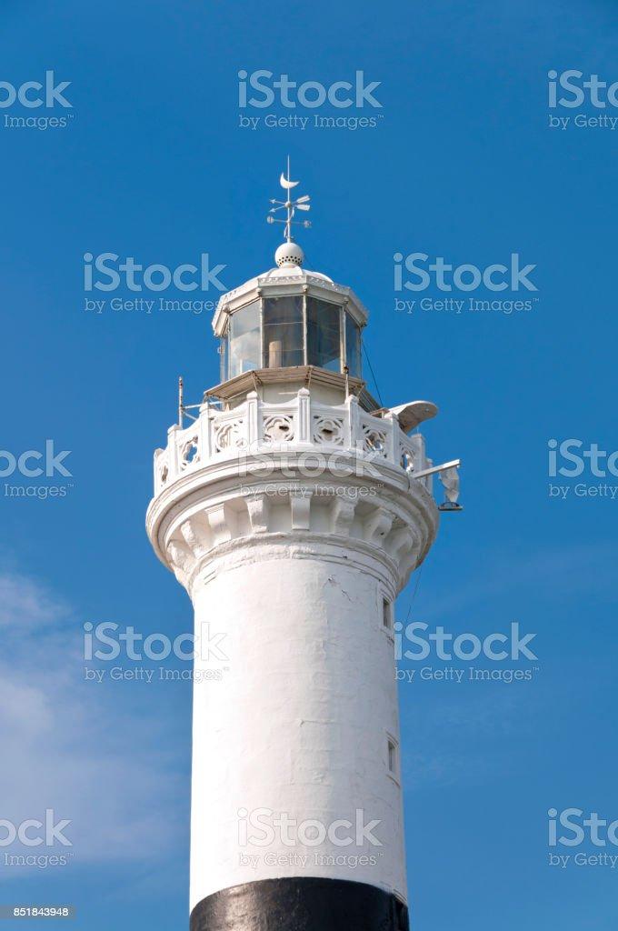Lighthouse in Sarayburnu stock photo