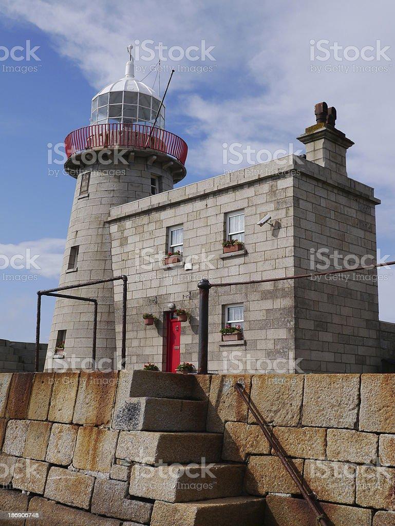 lighthouse Ireland royalty-free stock photo