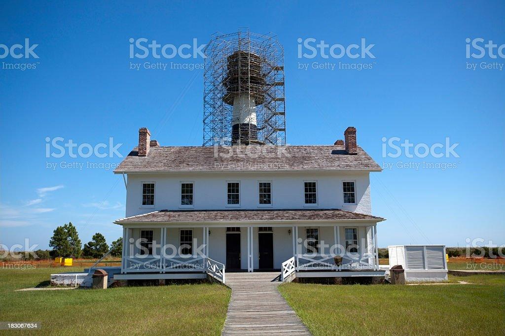 Lighthouse Keeper's House stock photo