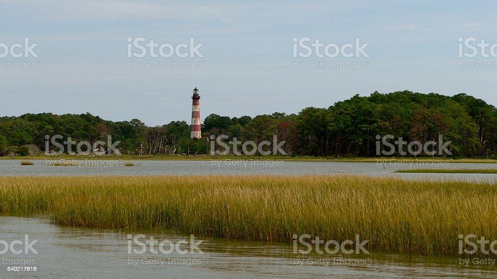 Lighthouse Landscape stock photo