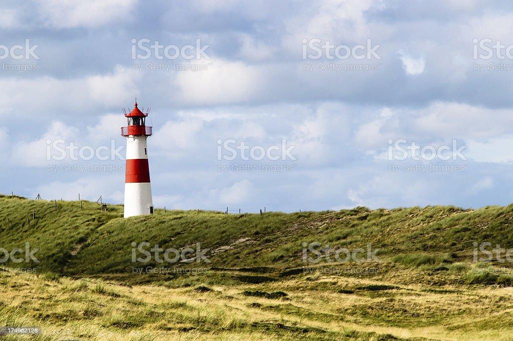 Lighthouse List stock photo