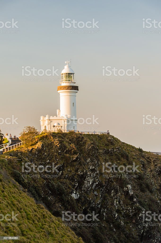 Lighthouse of Byron Bay I stock photo