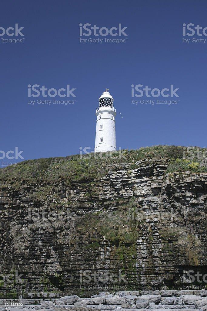 ロック灯台の ロイヤリティフリーストックフォト