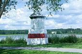 Lighthouse on the seashore