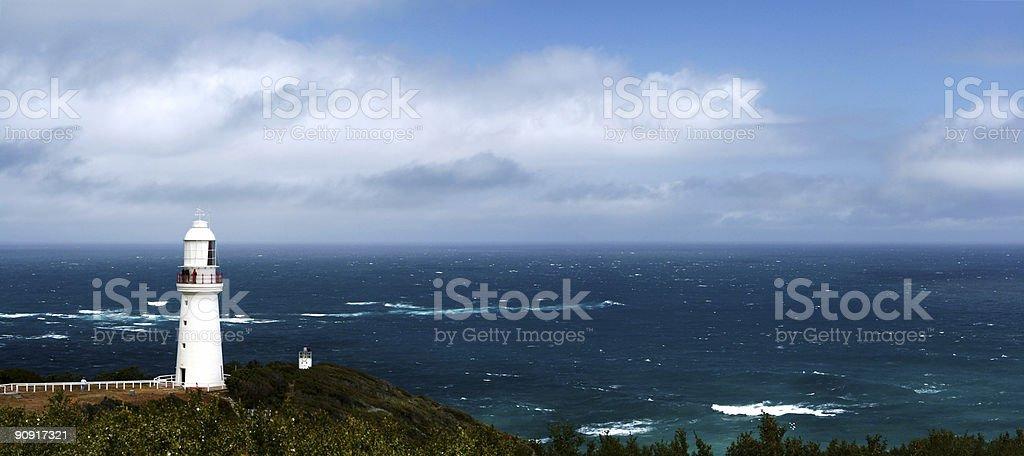Lighthouse Panorama royalty-free stock photo