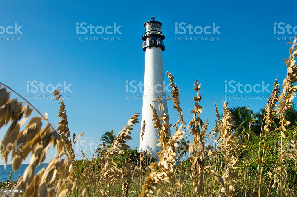 Lighthouse past the Dunes stock photo