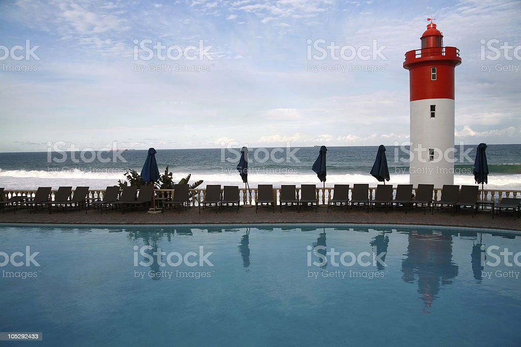 Lighthouse (South Africa) stock photo