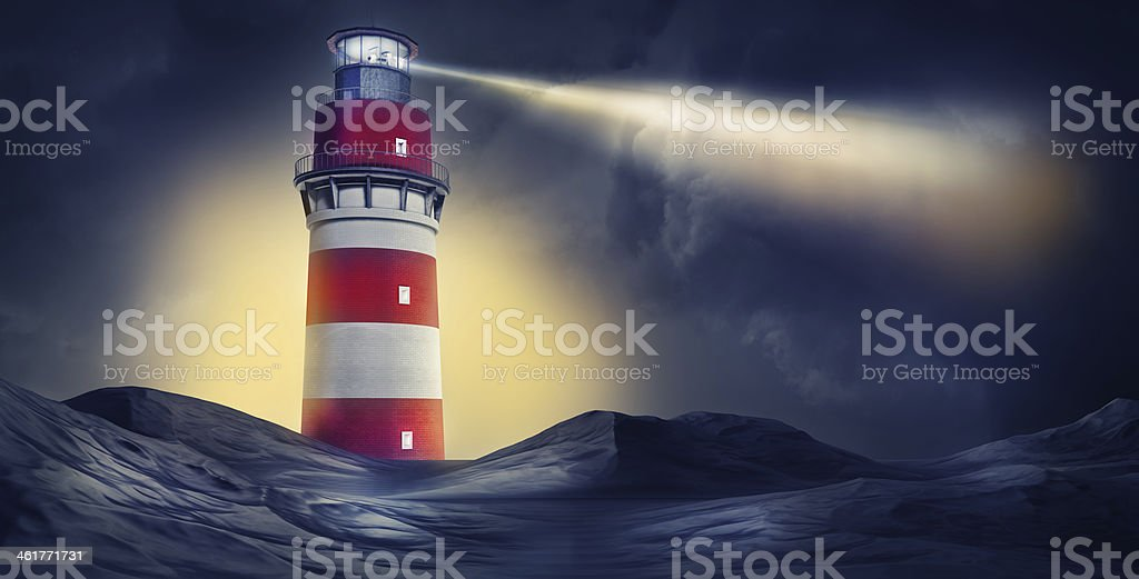 lighthouse stock photo
