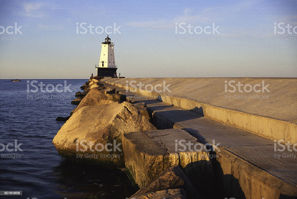 Lighthouse royalty-free stock photo