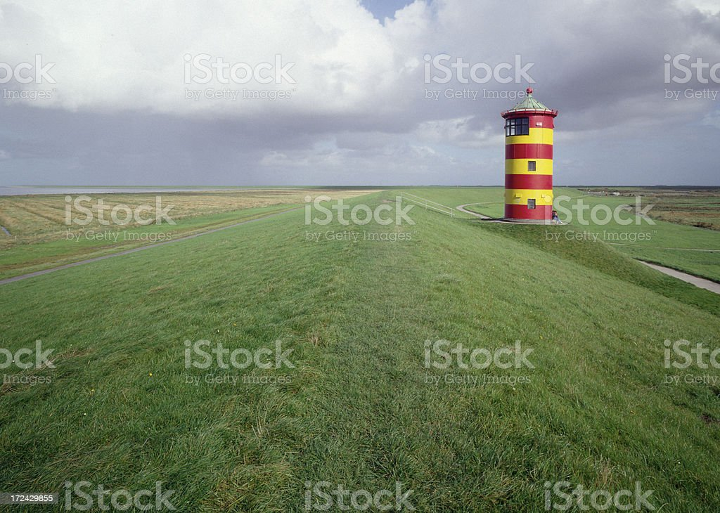Lighthouse Pilsum (image size XXL) royalty-free stock photo