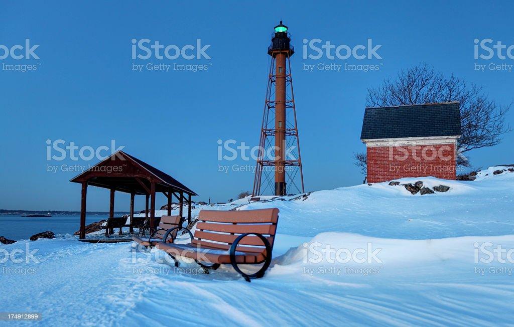Lighthouse Point stock photo