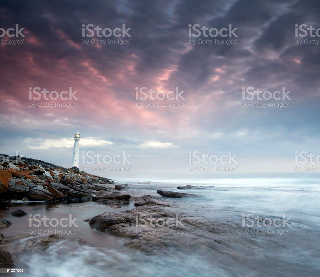 Lighthouse Seascape stock photo