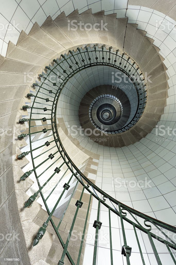 lighthouse staircase royalty-free stock photo