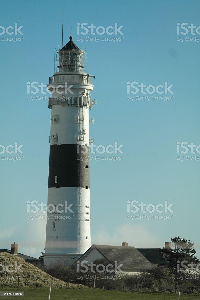 Lighthouse - Sylt stock photo