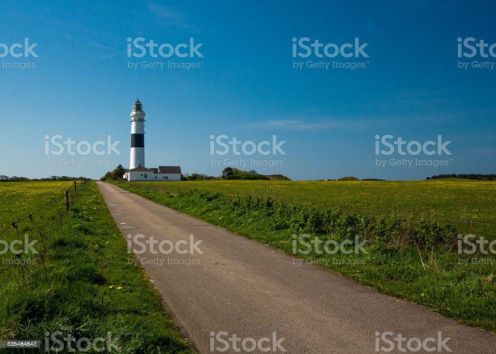 Lighthouse  Sylt, Schleswig-Holstein, Germany stock photo