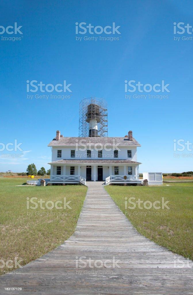Lighthousekeeper's House stock photo