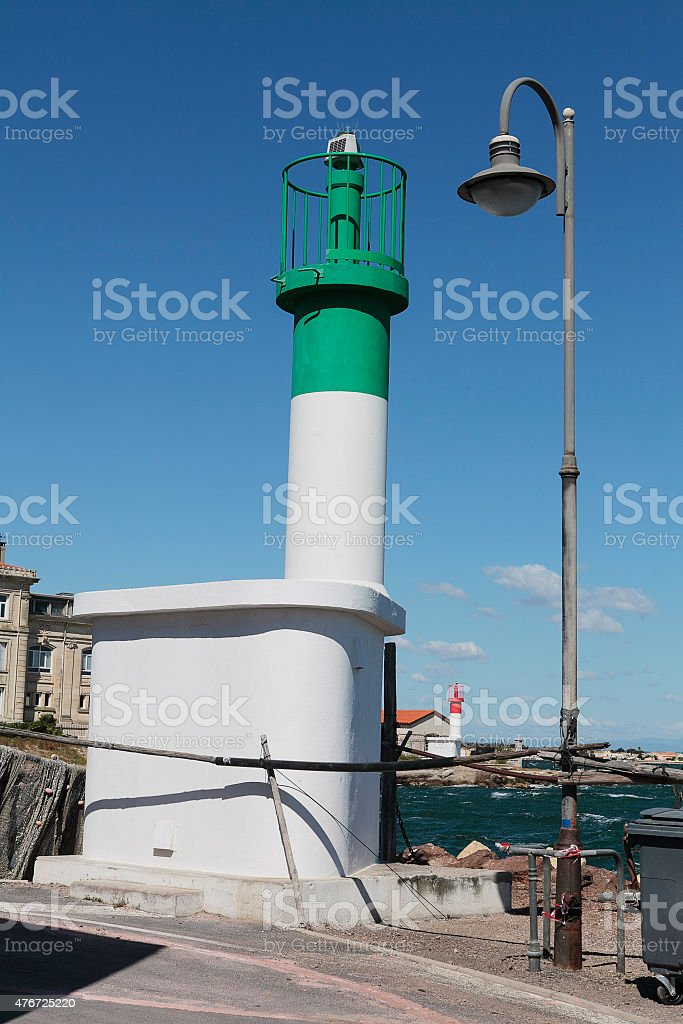 lighthouses stock photo