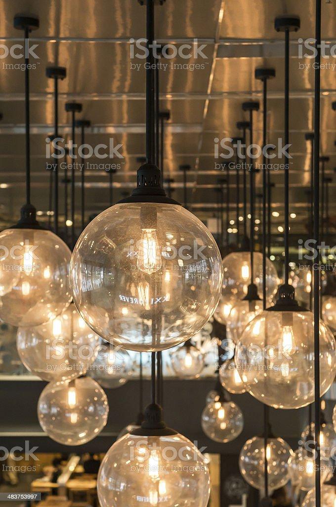 Lighting decor royalty-free stock photo