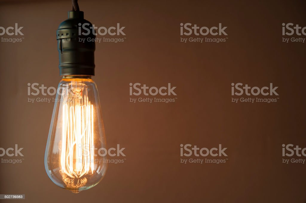 Lighting Decoration stock photo