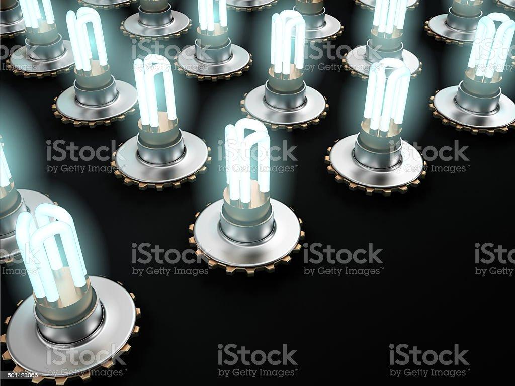 Lighting Equipment, 3D stock photo