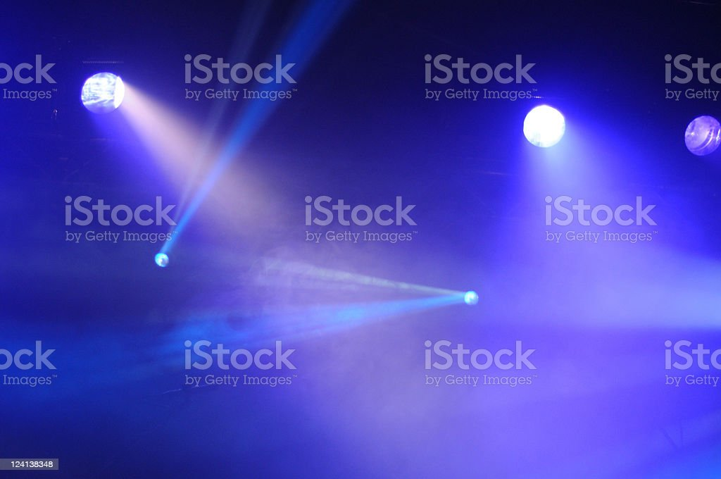 Lighting Equipment on Club Concert royalty-free stock photo