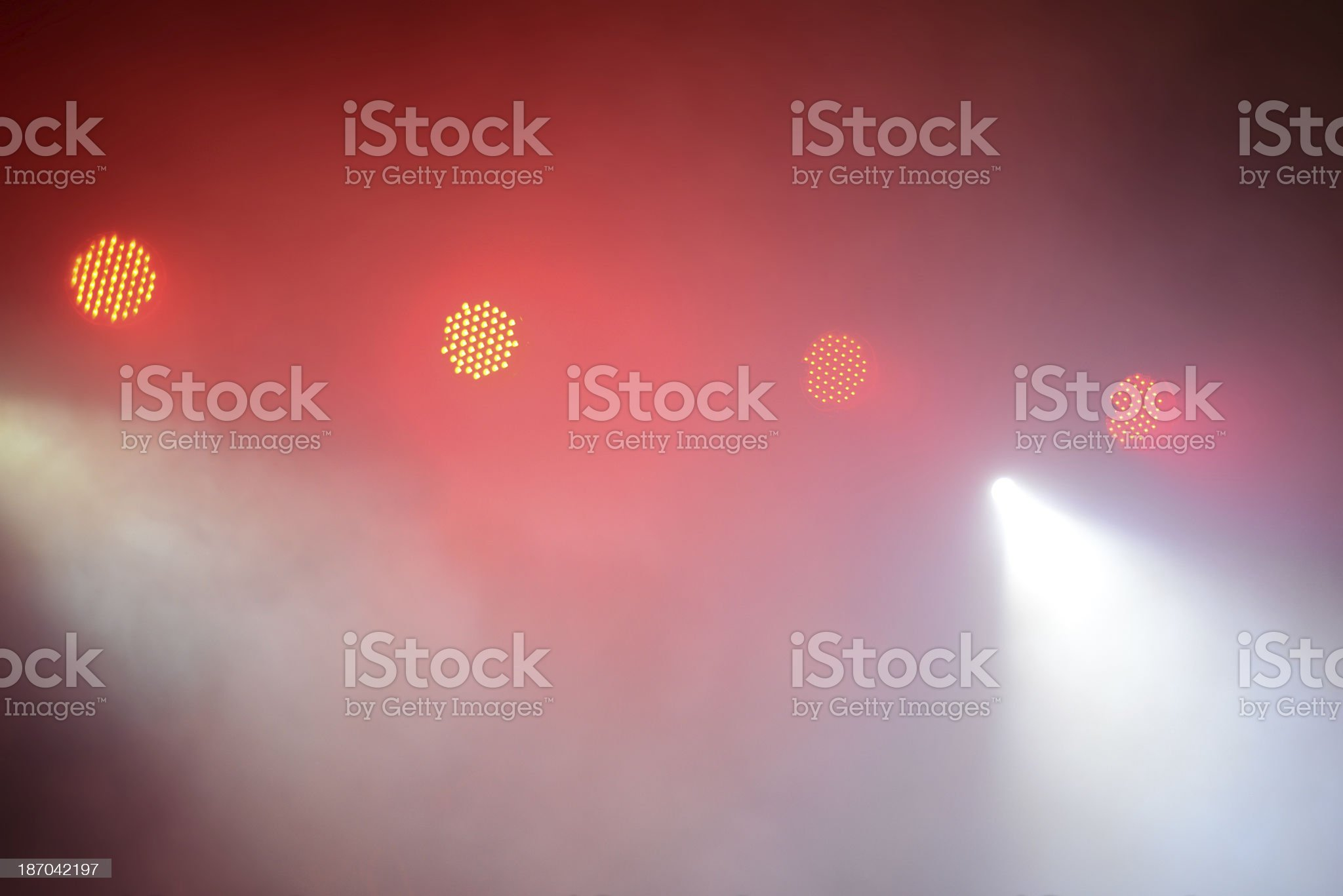 Lighting Equipment on Club Concert royalty-free stock photo