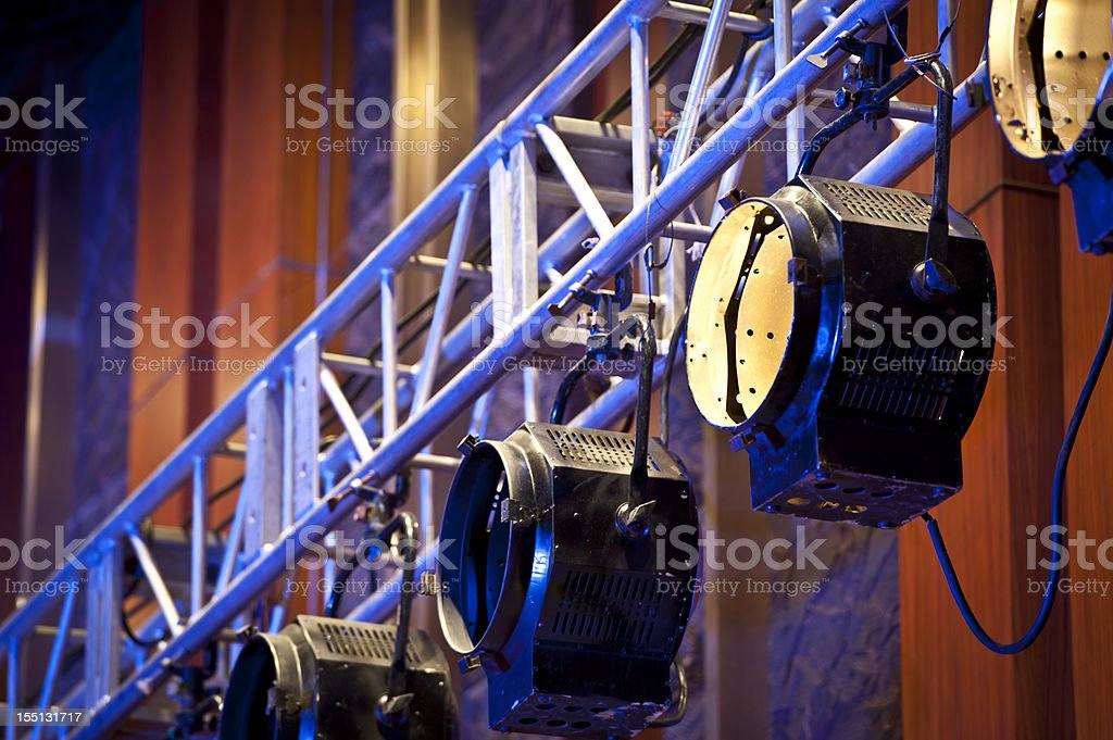 Lighting Equipment royalty-free stock photo
