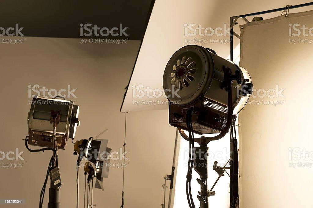 Lighting equipment. stock photo