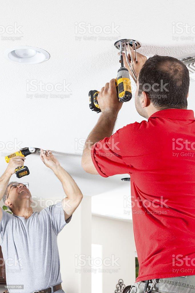 Lighting Installation royalty-free stock photo