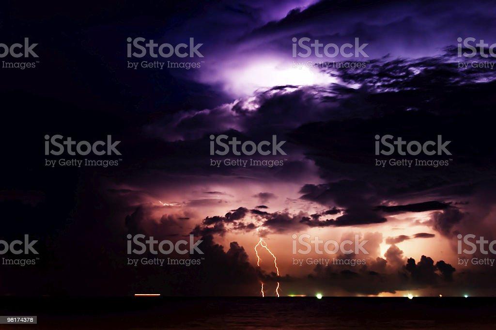 Lighting Storm stock photo