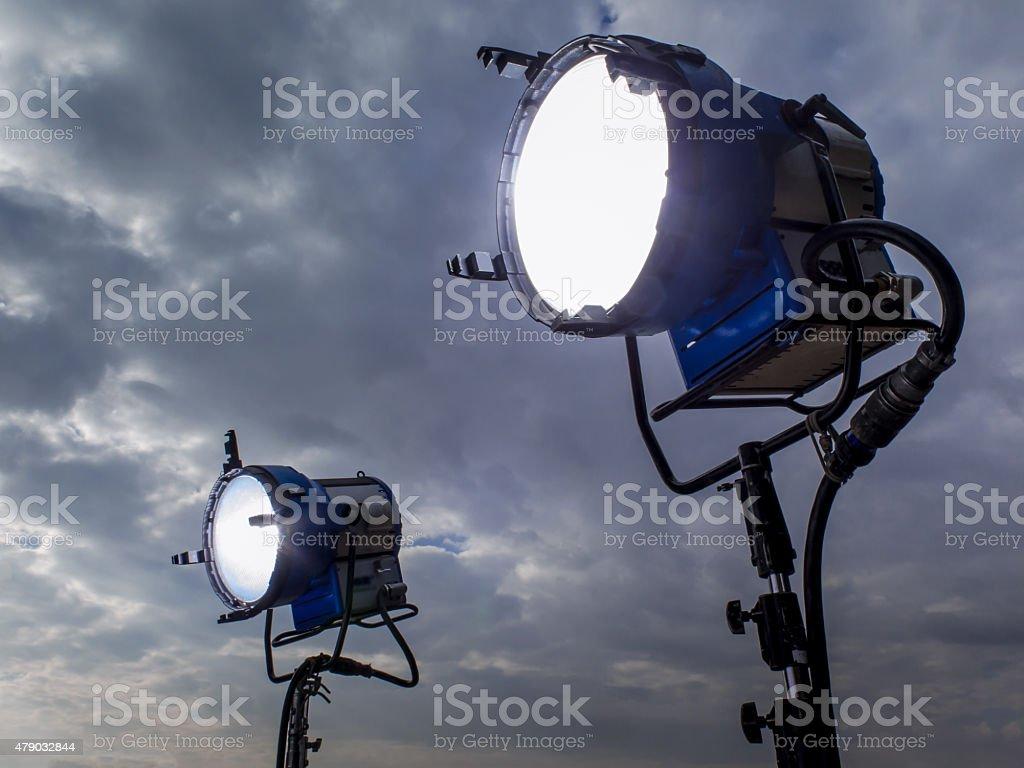 Lighting techniques stock photo