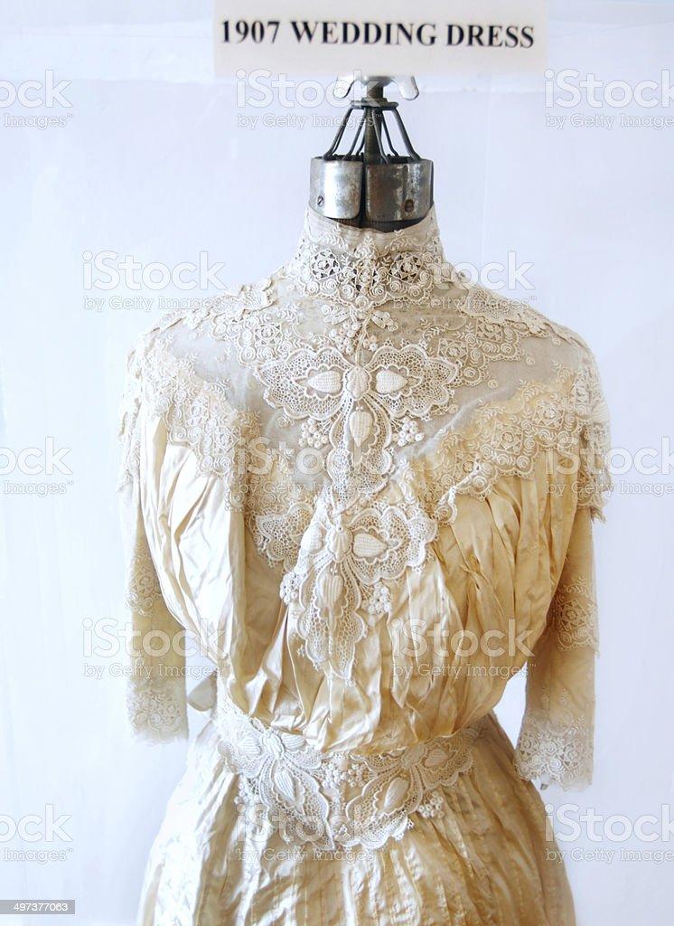 Lightkeeper's Wedding Dress stock photo