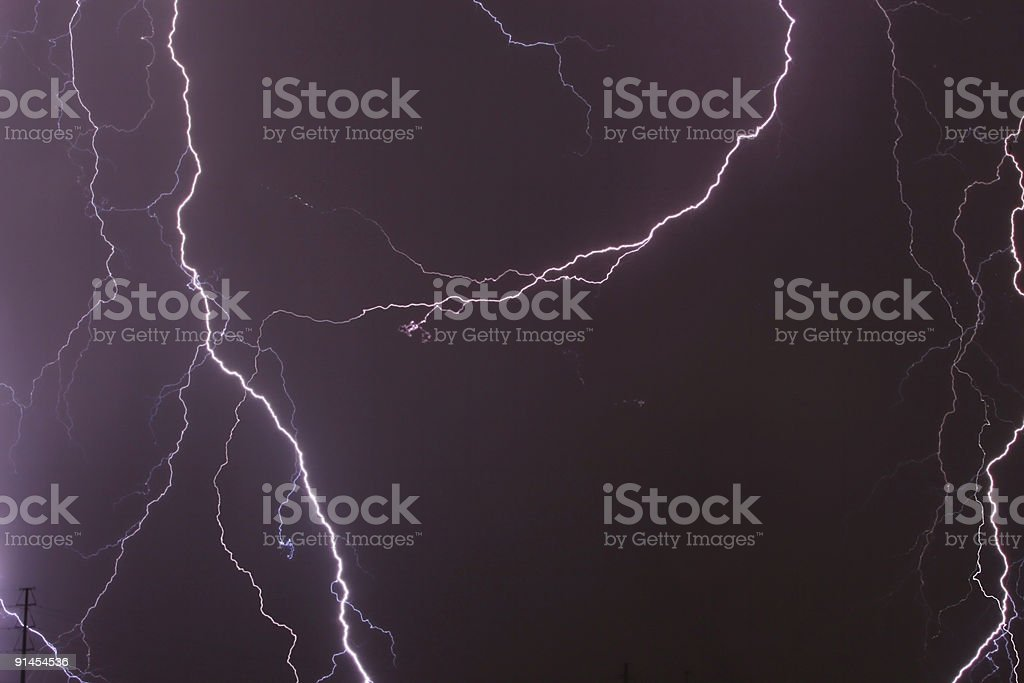 Lightning 3 royalty-free stock photo