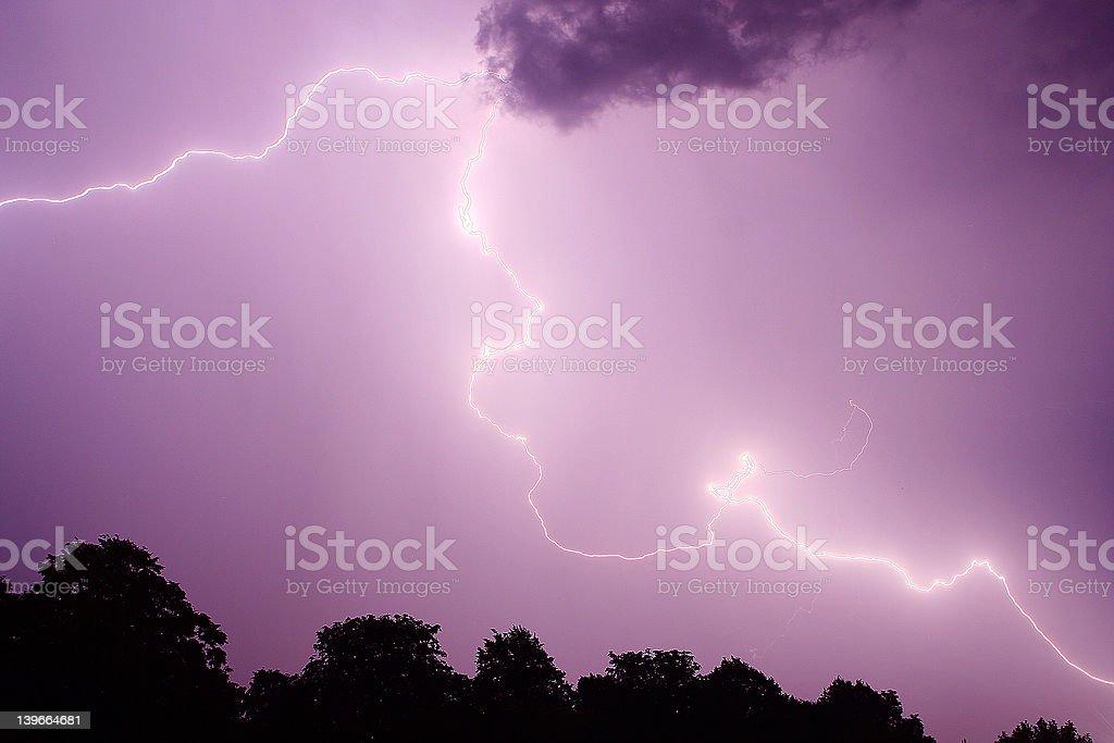 Lightning 7 royalty-free stock photo