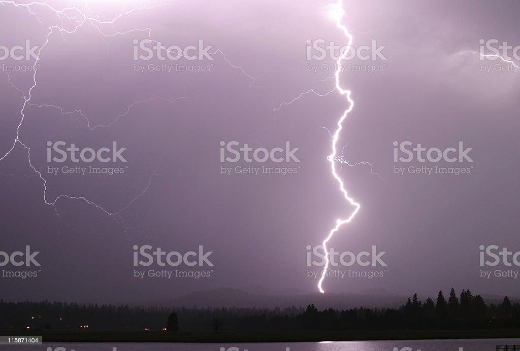 Lightning Bolt royalty-free stock photo
