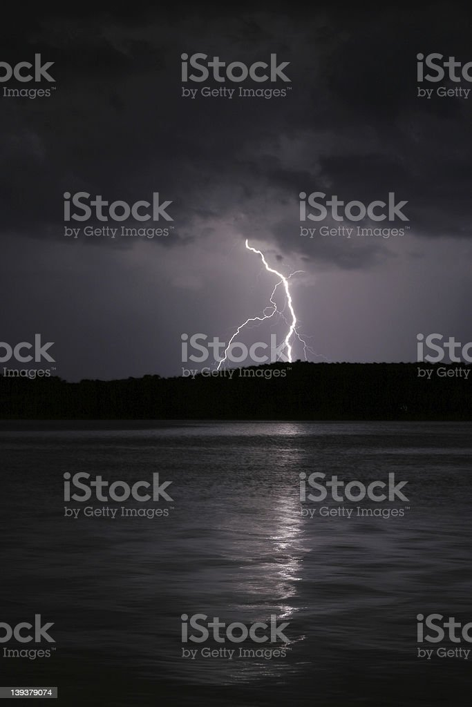 Lightning II stock photo