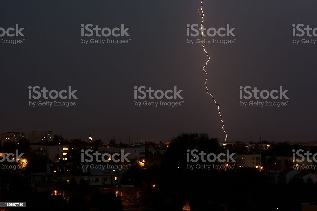 lightning royalty-free stock photo