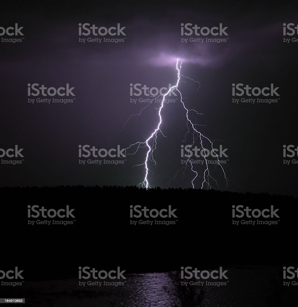 Lightning royalty-free stock photo