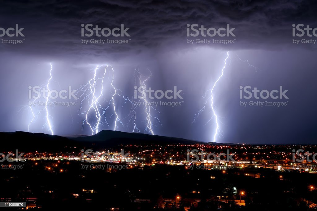 Lightning Storm royalty-free stock photo