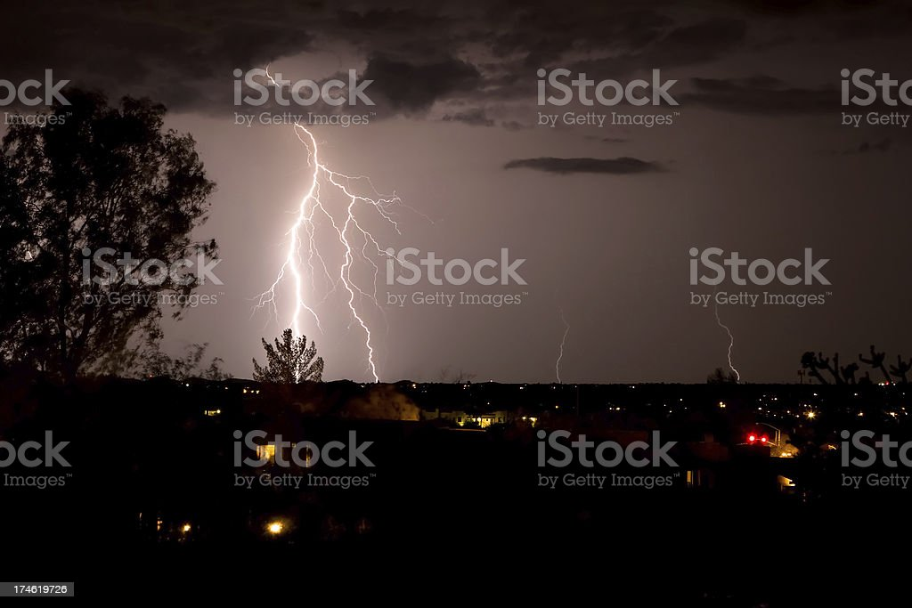 Lightning Storm royalty-free stock photo