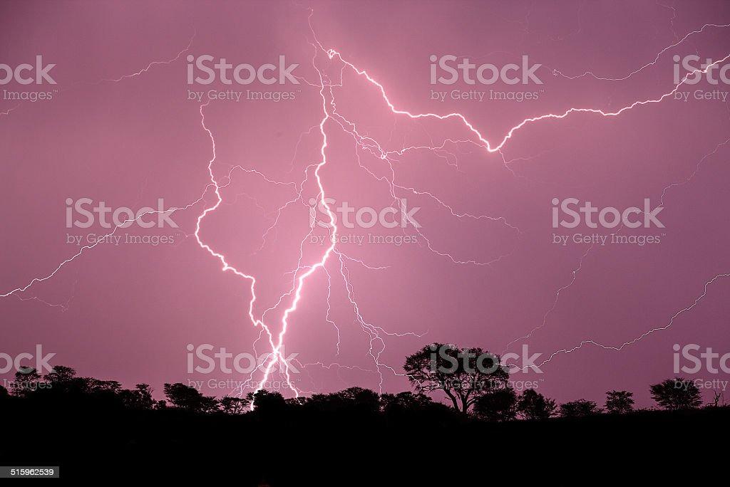 Lightning Thunder stock photo