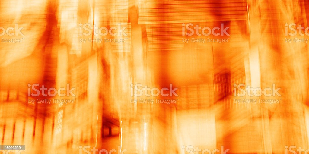 lights abstract background stock photo
