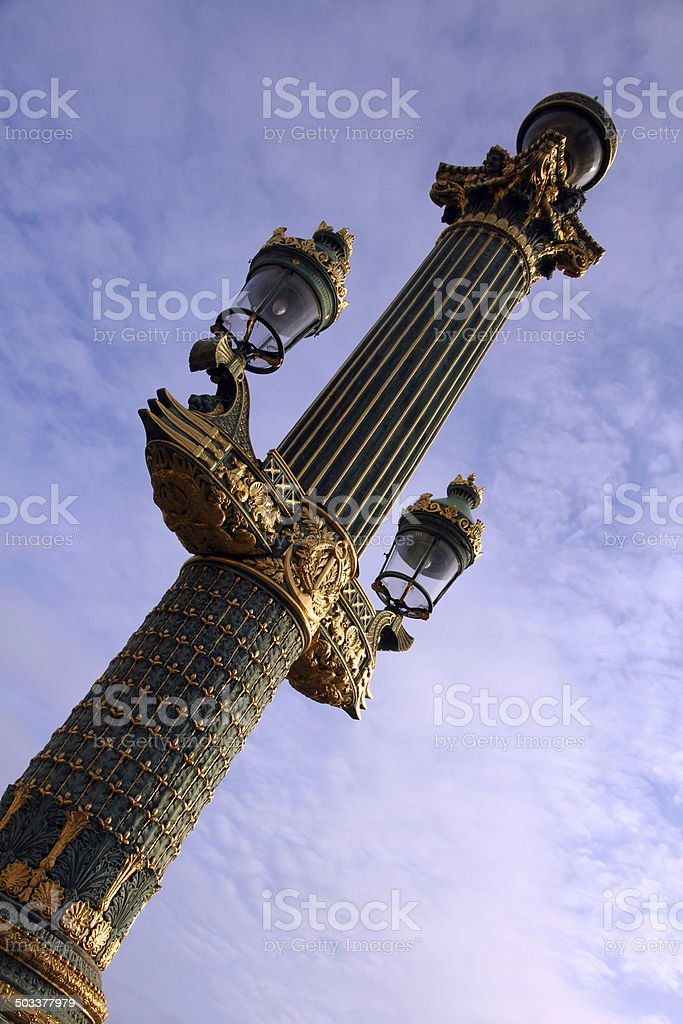 Lights and Clouds royalty-free stock photo